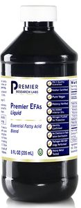 EFAs Liquid, Premier Dietary Supplement Essential Fatty Acid Blend Premier, Life-Essential Oil Blend  (8 fl oz/bottle); Violite® Container