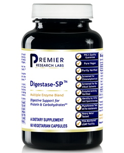 Digestase-SP™ Dietary Supplement Multi-Enzyme Formula  Digestive Support for Protein and Carbohydrates