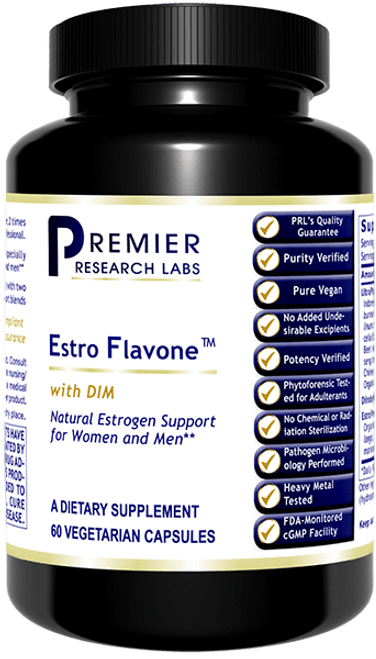 Estro Flavone - Supports relief of PMS & menopause, healthy hormone balance, estrogen metabolism & detoxification