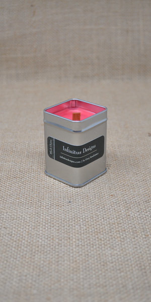2.5 oz Infinity Lux Scented Soy Wax Candle, by Infinitus Designs