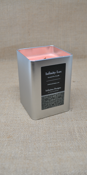 23 oz Infinity Lux Scented Soy Wax Candle, by Infinitus Designs