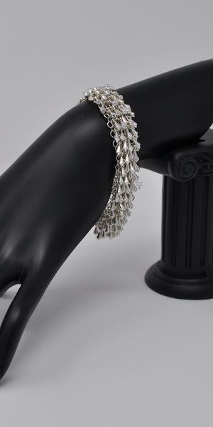 Stardust Bracelet with 2-loop clasp, by Infinitus Designs