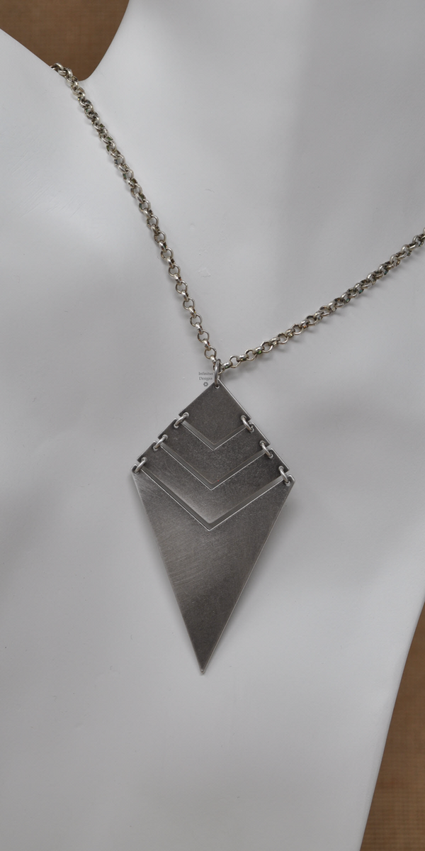 Edge of the Knife Necklace, by Infinitus Designs