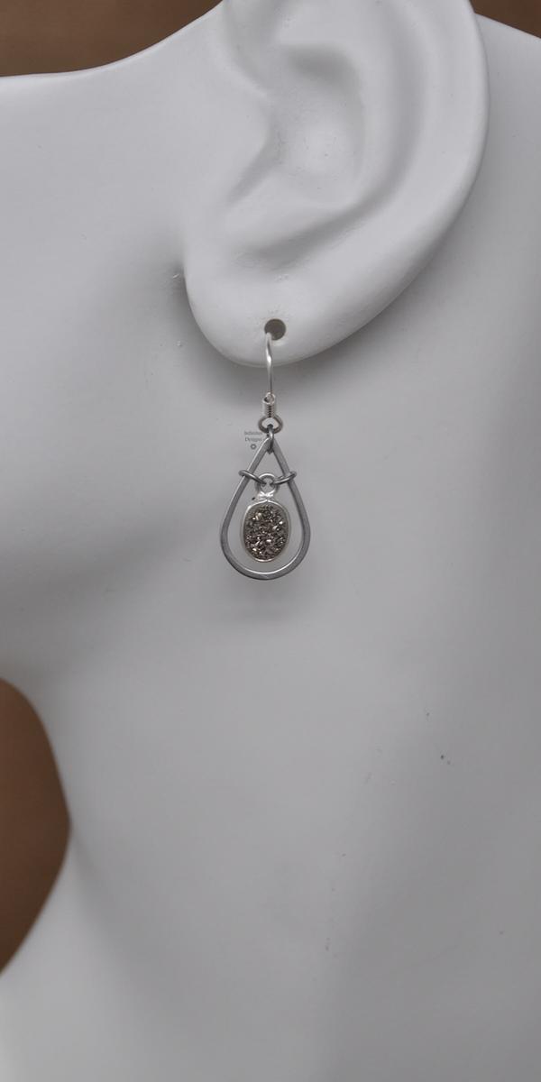 Fairy Tears Earrings, by Infinitus Designs