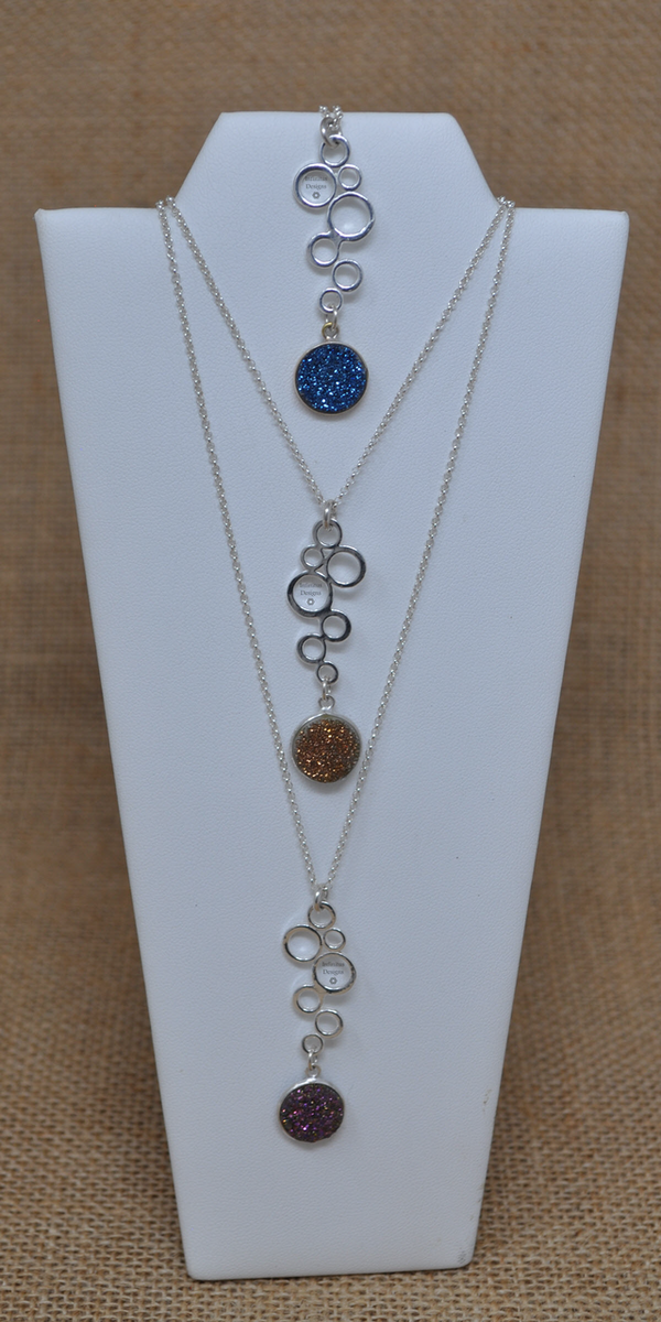 Fizzy Flair Necklaces, by Infinitus Designs
