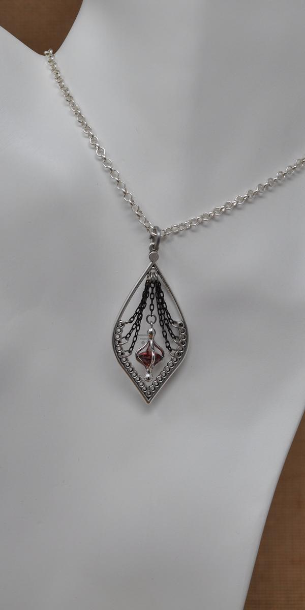 Heartstrung Necklace, by Infinitus Designs