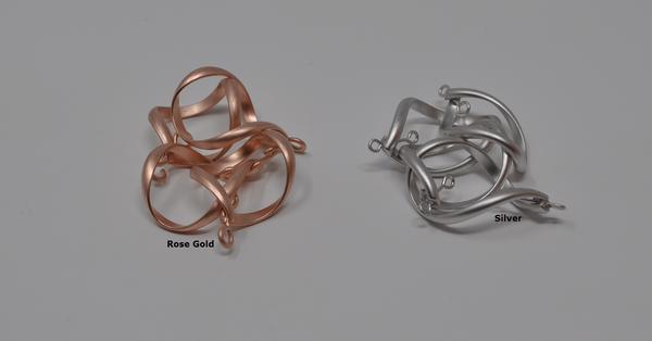 Twist color options for Infinity Twist Earrings
