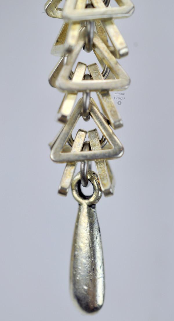 Trigon Earrings, by Infinitus Designs