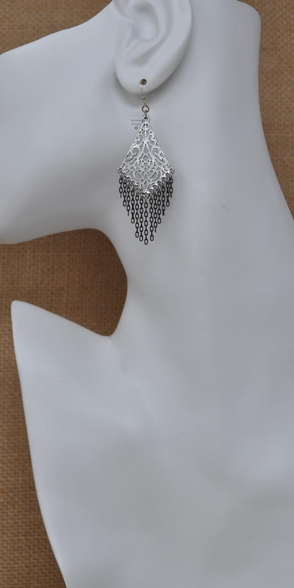 La Filigrana Earrings, by Infinitus Designs
