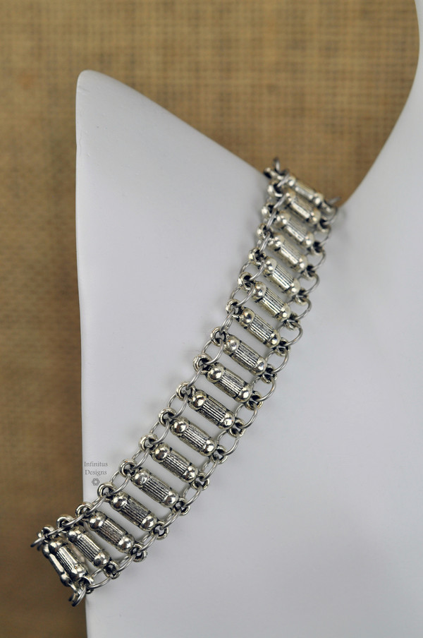 Bamboo Ladder Bracelet, by Infinitus Designs
