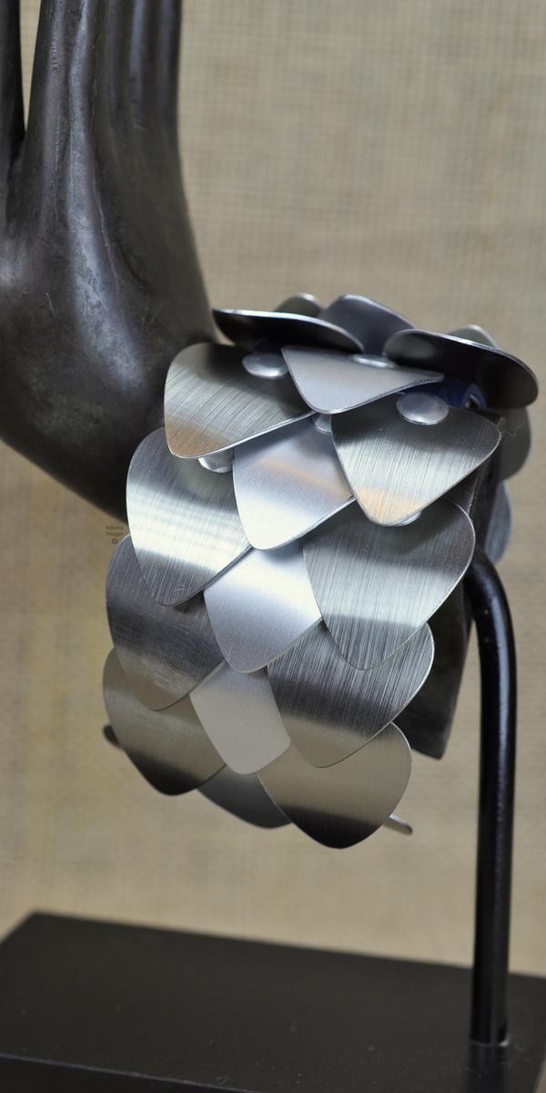 Dragon Scale Cuff, by Infinitus Designs