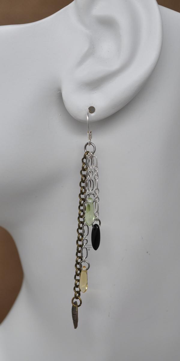 Wood Nymph Earrings, by Infinitus Designs