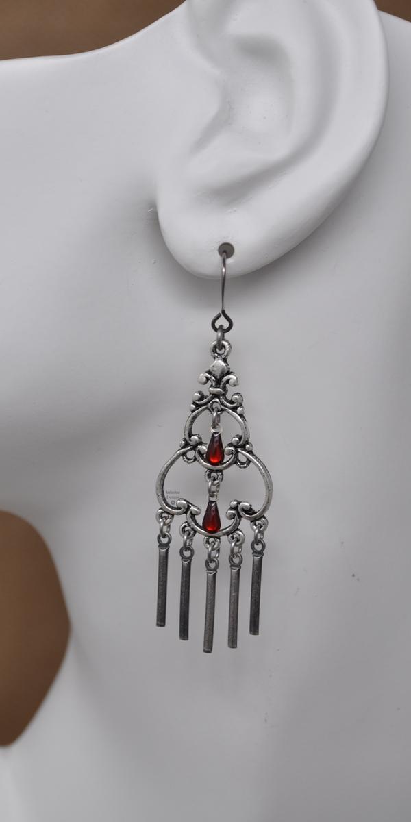 Chandelier Earrings, by Infinitus Designs