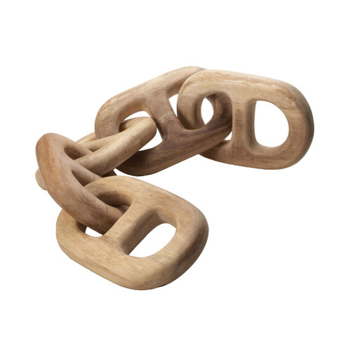 Hand Carved Chain Link 5 Link by Elk Home
