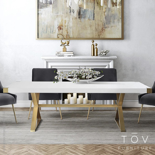 Adeline Dining Table by Tov Furniture TOV-G5496