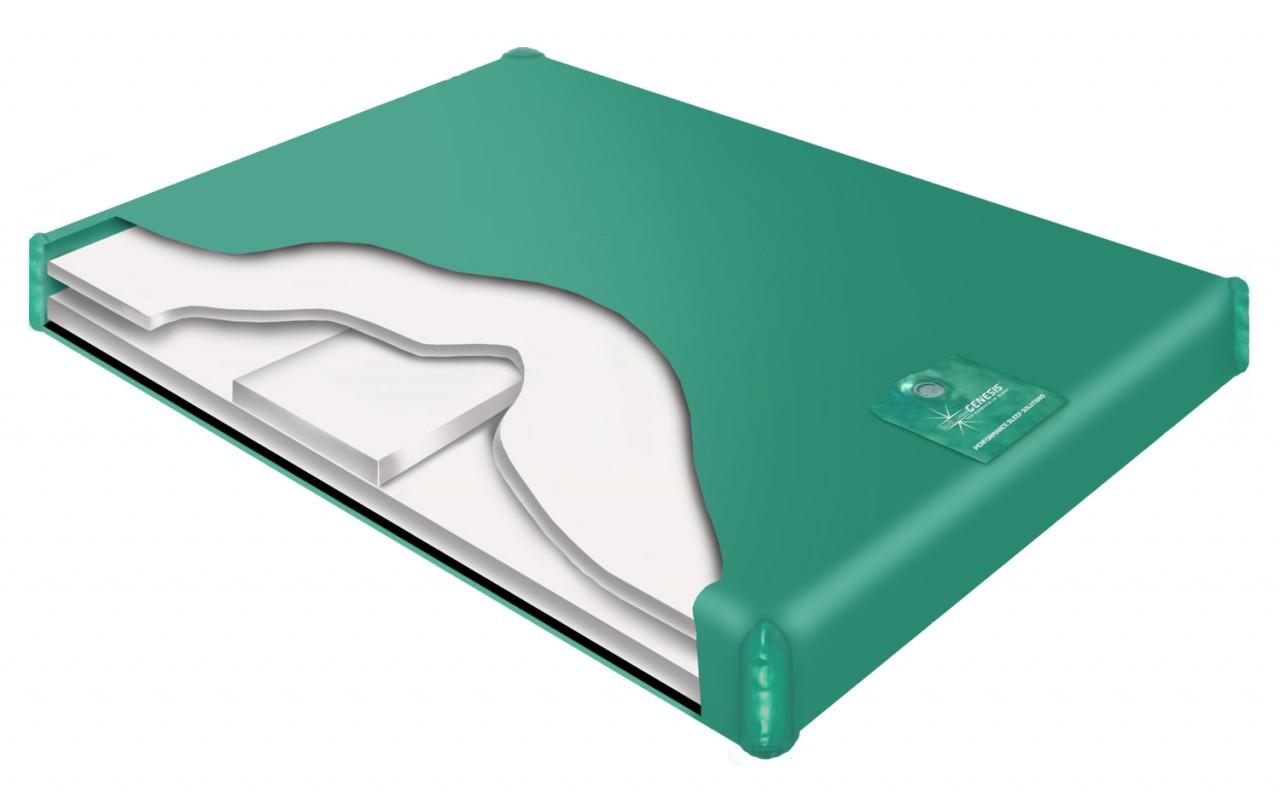 700 SL semi waveless hardside waterbed mattress