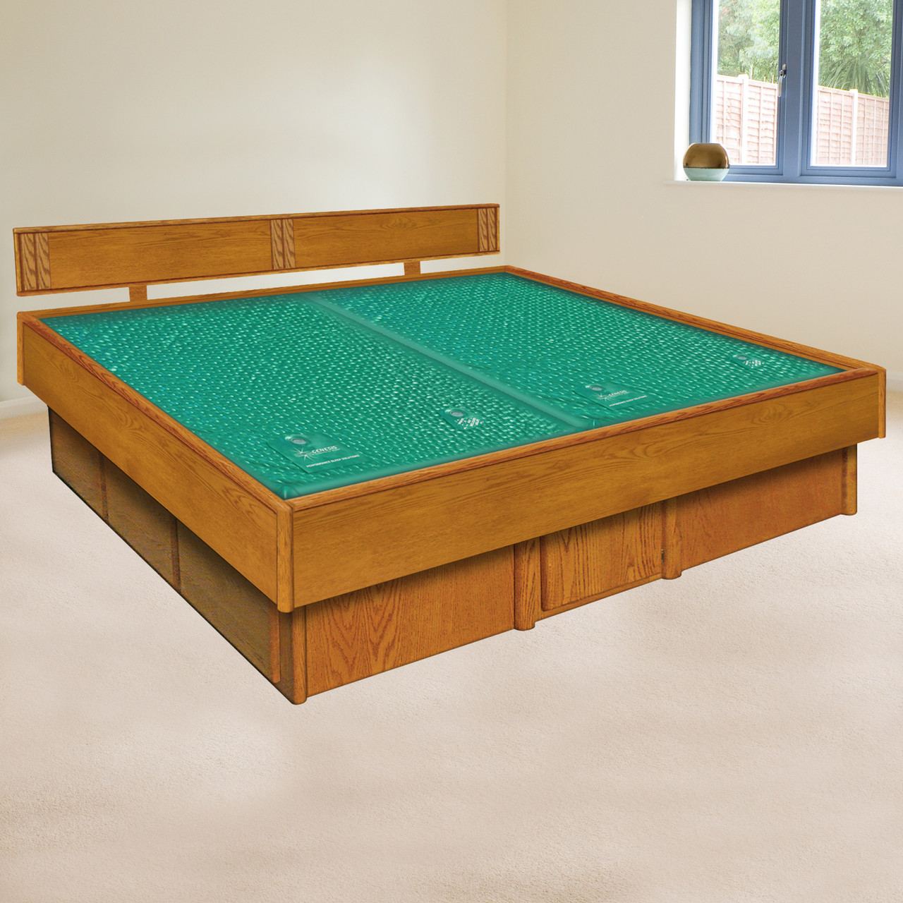 Waterbed Hardside Frame Waterbed Base Free Shipping From Waterbed Bargains