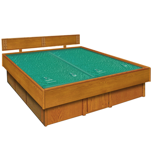 5 Board Oak Waterbed Frame