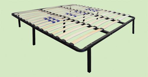 Swiss Pro (Euro Base) Slat Platform Bed Frame with Adjustable Firmness boyd specialty sleep, bed frames, platform bed, swiss pro, adjustable firmness, euro base