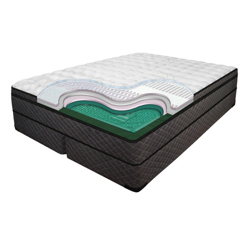 Mystique 11 Inch Mattress Softside Luxury Support Waterbed
