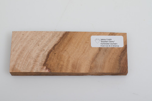 "Jatoba Crotch Knife Blank 2 1/2"" x 7"" x 11/16"""