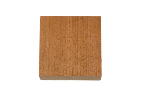 African Mahogany Bowl Blank 5 x 5 x 2