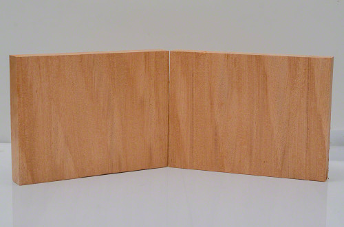 "Curly Ropey African Mahogany Billets - 5 1/2"" x 7 1/4"" x 1"""