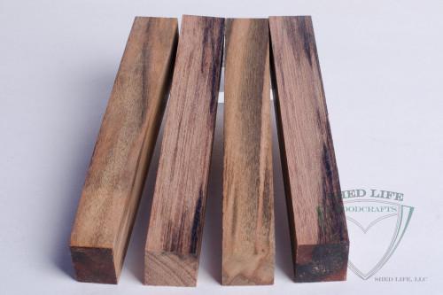 """Yucatan Rosewood 3/4"""" Pen Blanks - 4 Pack"""