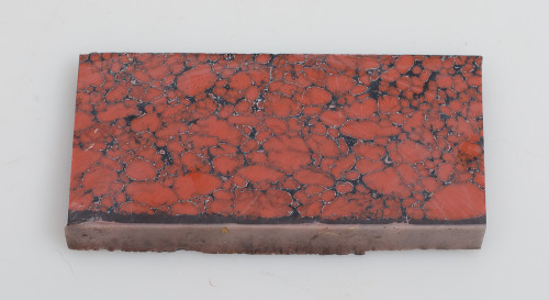 "Red Dino Bone TruStone Piece - 2 3/8"" x 5"" x 7/16"""