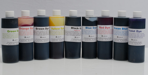 Alumilite Dyes - 6 oz Bottles