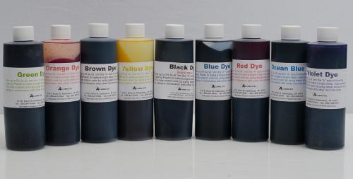 Alumilite Dyes - 6 oz Bottles