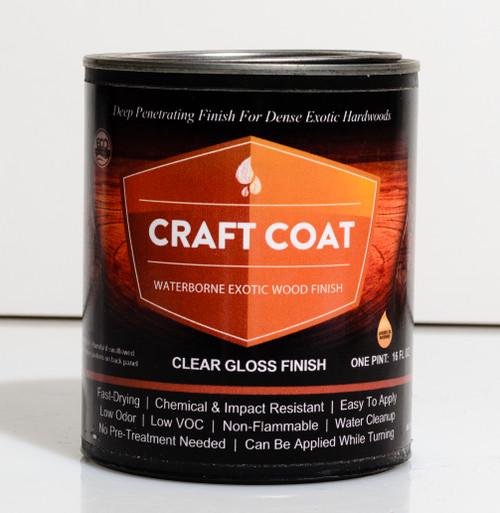 Craft Coat - Clear Gloss Finish - 1 pint