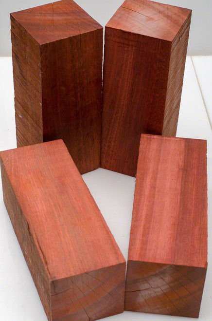 "Bloodwood Turning Stock - 3"" x 3"" x 8"" (B Grade)"