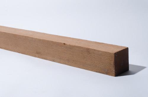 "Leopardwood Turning Stock 2"" x 2"" x 24"""
