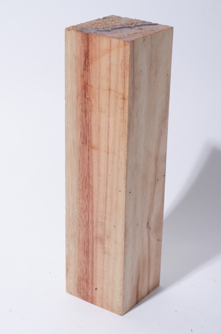 "Canarywood Turning Stock - 2 1/2"" x 2 1/2"" x 9 1/2"""