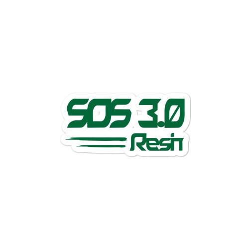 SOS 3.0 stickers