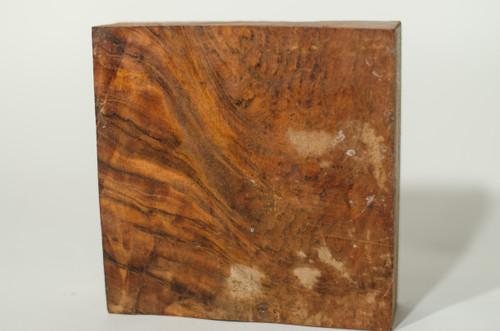 "Jatoba Crotchwood Bowl Blank - 6"" x 6"" x 2"""