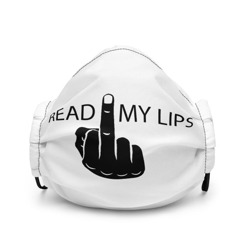 Face mask - Read My Lips