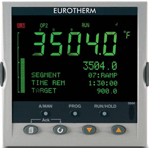 Eurotherm 3504 five digit display, user screen