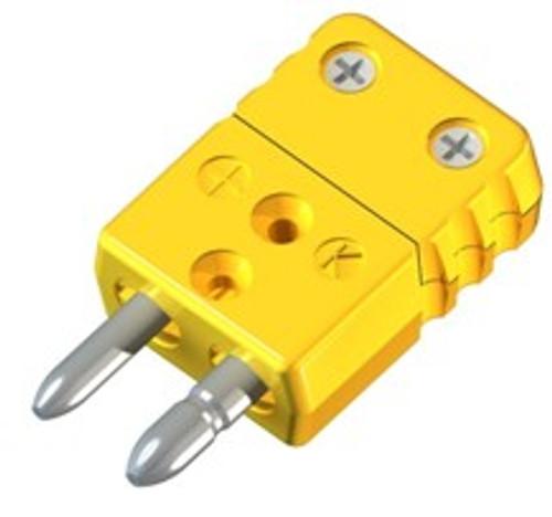 HD20-J male plug thermocouple J type solid pin