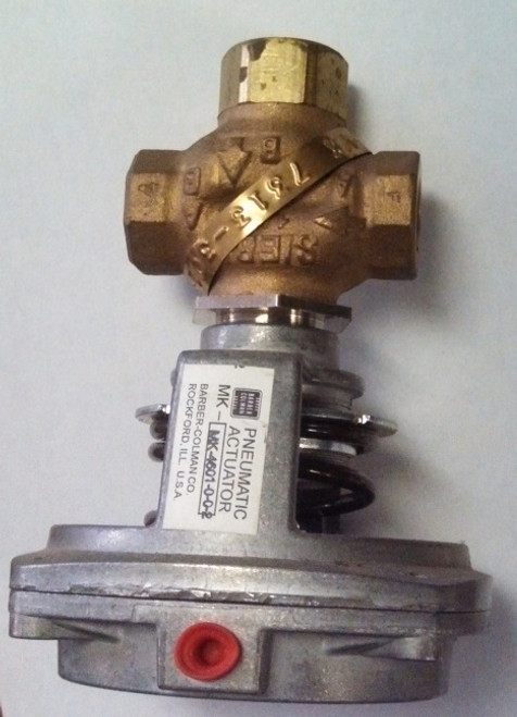valve with pnematic actuator