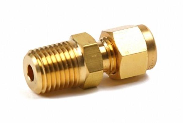 compression fitting - brass 1/8 NPT