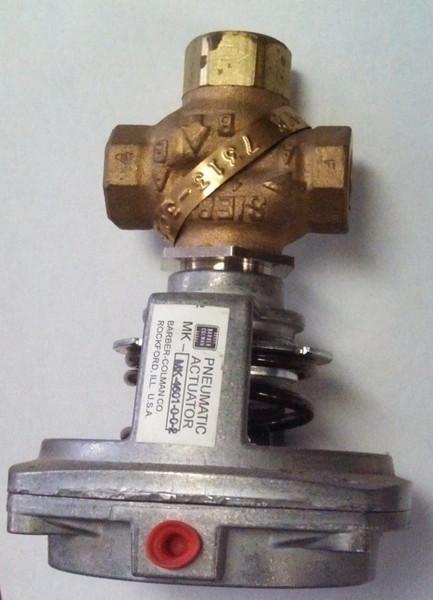 valve with pnematic actuator
