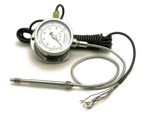 """mechanical pressure sensor with dial display, 6"""" stem, 0-5000PSI"""