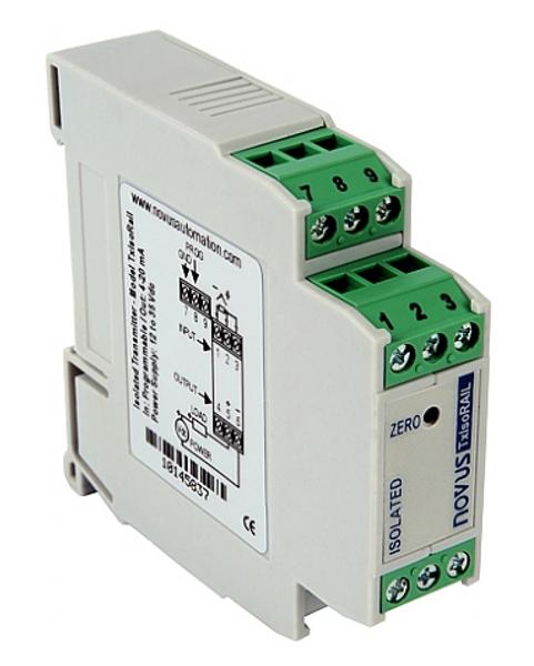 TxIsoRail temperature signal conditioner