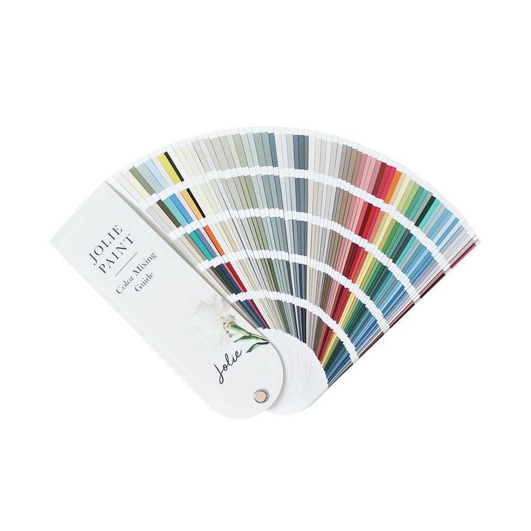 Jolie Paint Color Mixing Fan Deck Chalk Paint