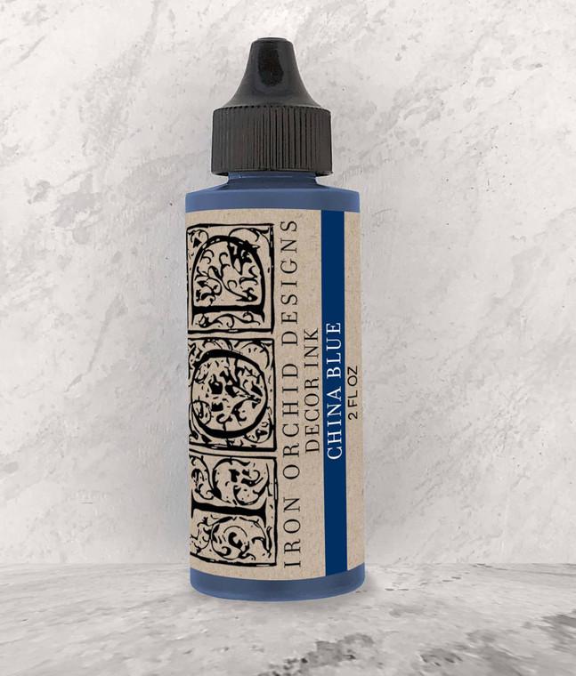 "IOD Decor Ink "" China Blue"" 2 fl oz"