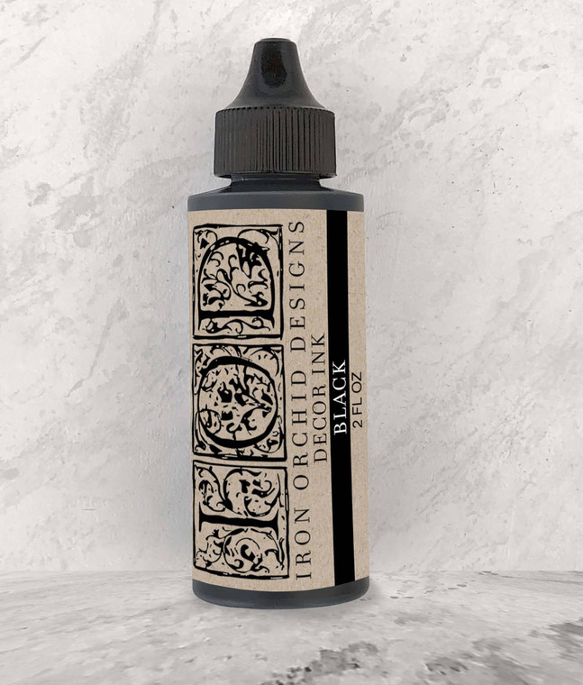 "IOD Decor Ink ""Black"" 2 fl oz"