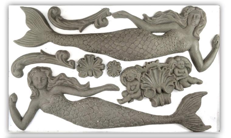 IOD Decor Moulds™  Sea Sisters 6x10