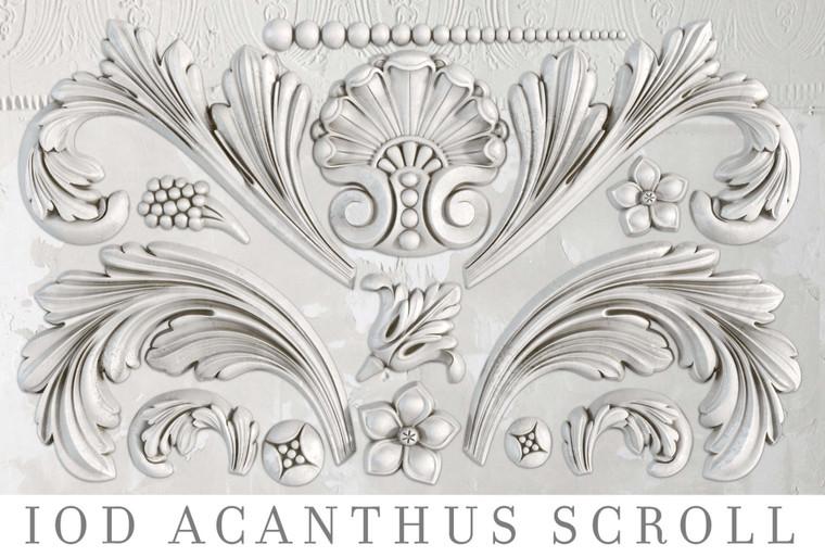 IOD Decor Moulds™ Acanthus Scroll